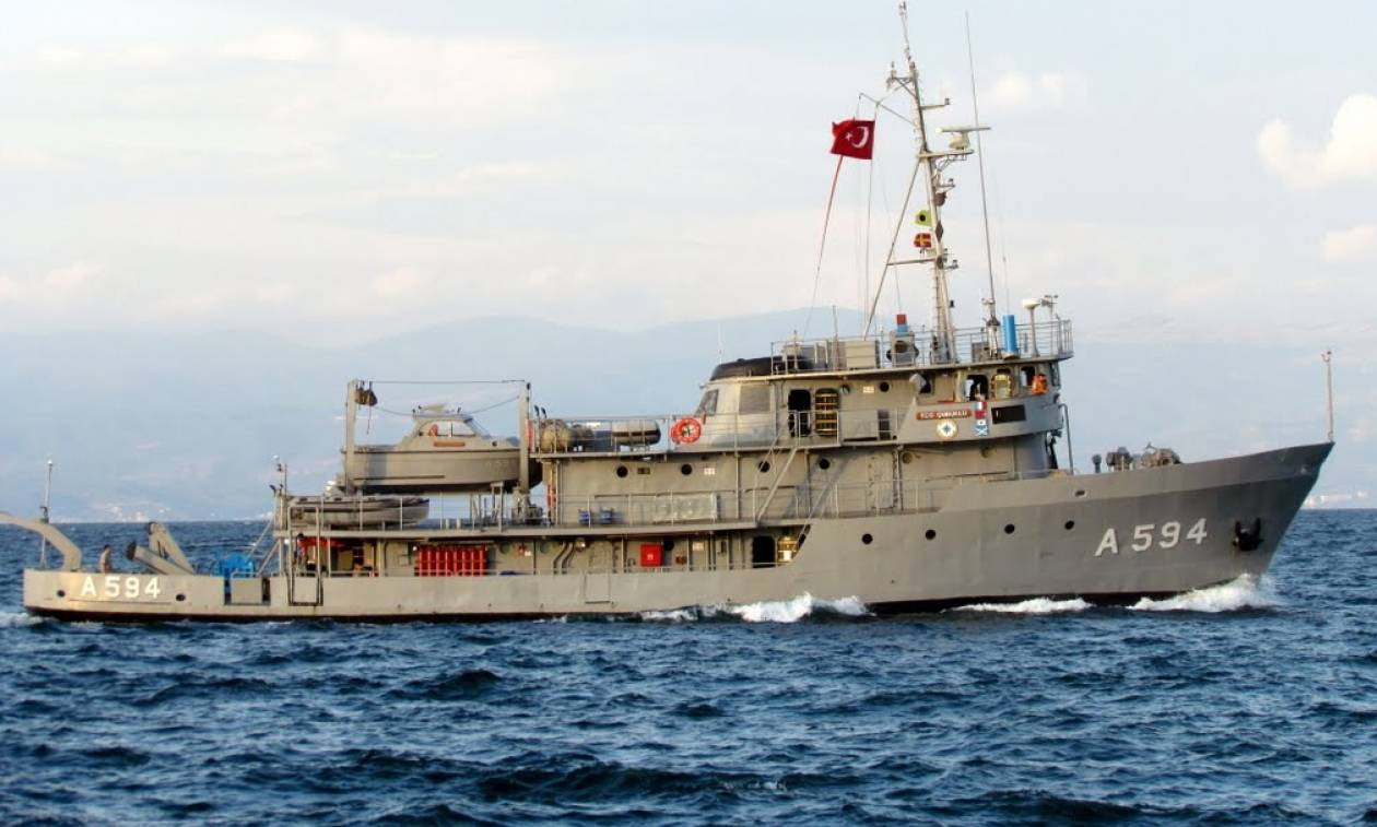 Μυρίζει μπαρούτι: Η Τουρκία στέλνει σκάφος – κατάσκοπο στο Αιγαίο