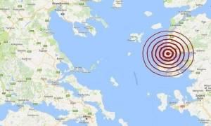 Σεισμός βόρεια της Μυτιλήνης (pics)