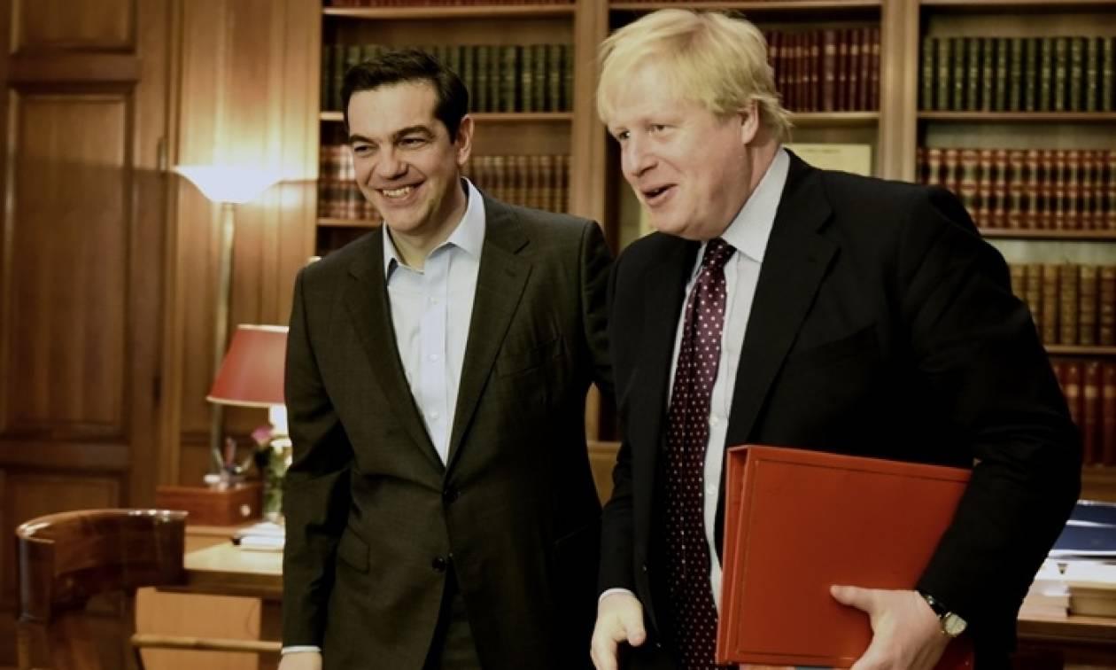 Συρία και Κυπριακό στη συνάντηση Αλέξη Τσίπρα – Μπόρις Τζόνσον