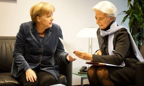 Reuters: Συνάντηση Μέρκελ - Λαγκάρντ στο Βερολίνο