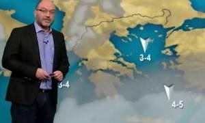 Σάκης Αρναούτογλου: Τρία στα δέκα σενάρια δείχνουν ψυχρή εισβολή την Κυριακή του Πάσχα (Video)