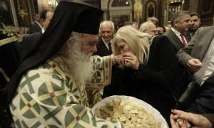 Η Κυριακή των Βαΐων στη μητρόπολη Αθηνών (pics)