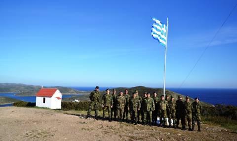 Στρατός Ξηράς: Ο διοικητής ΑΣΔΕΝ στις Οινούσσες και στα Ψαρά