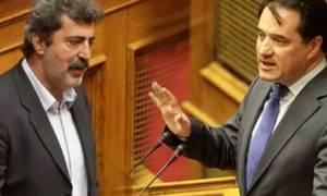 Βουλή: Άλλη μια άγρια κόντρα Πολάκη με Αδώνι
