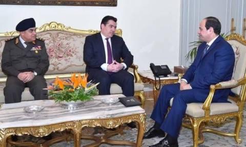 Συναντήσεις Φωκαΐδη με τον Πρόεδρο Σίσι και Αιγύπτιο ΥΠΑΜ