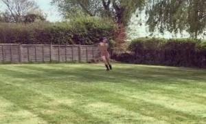Διάσημη σταρ γιόρτασε το διαζύγιό της τρέχοντας ολόγυμνη στον κήπο! (video)