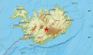 Σεισμός στην Ισλανδία