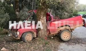 Τραγωδία στην Ηλεία: Νεκρός σε τροχαίο ο Γιώργος Νικολόπουλος
