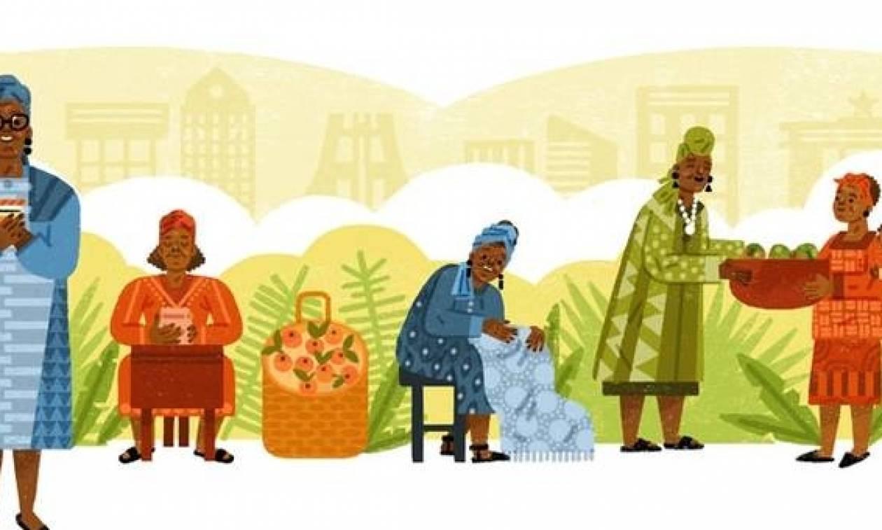 Έσθερ Άφουα Οκλόο: Ποια είναι η γυναίκα που τιμά σήμερα η Google με Doodle