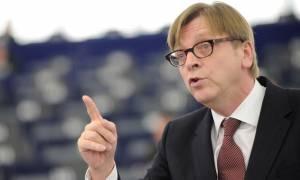 Μπλόκο Φερχόφσταντ στις ενταξιακές διαπραγματεύσεις της Τουρκίας λόγω Ερντογάν