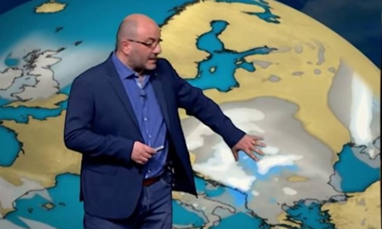 Καιρός: Βροχές την Τετάρτη, μπόρες... χιονιού βλέπει την Παρασκευή ο Σάκης Αρναούτογλου (video)