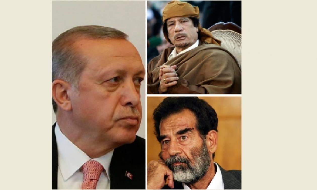 Αποτέλεσμα εικόνας για Σαντάμ καντάφι ερντογάν φωτο