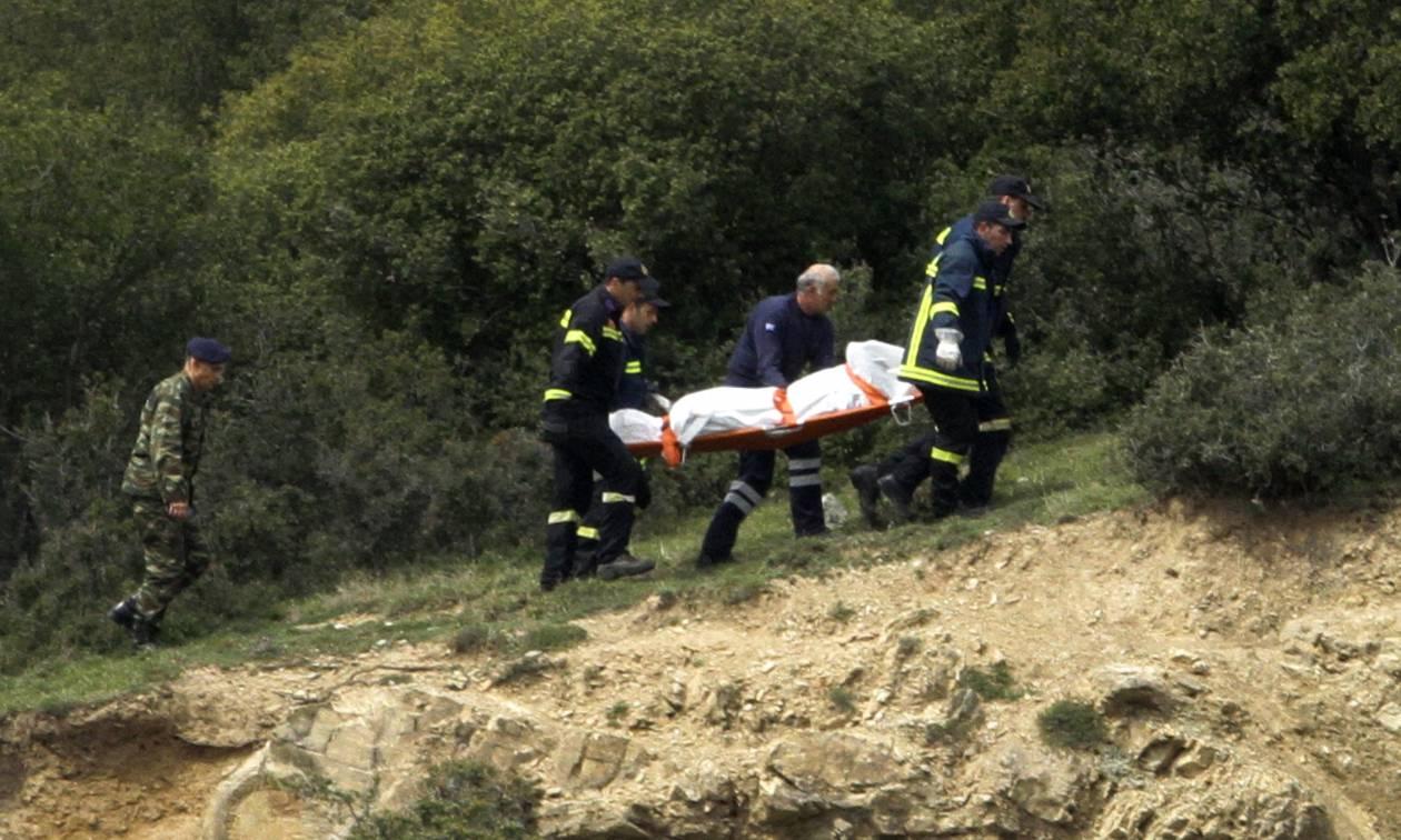 Πτώση ελικοπτέρου Κοζάνη: Οι πρώτες φωτογραφίες από το σημείο της τραγωδίας