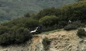 Πτώση ελικοπτέρου - Συγκλονιστικό βίντεο: Η στιγμή που εντοπίζεται το μοιραίο ελικόπτερο