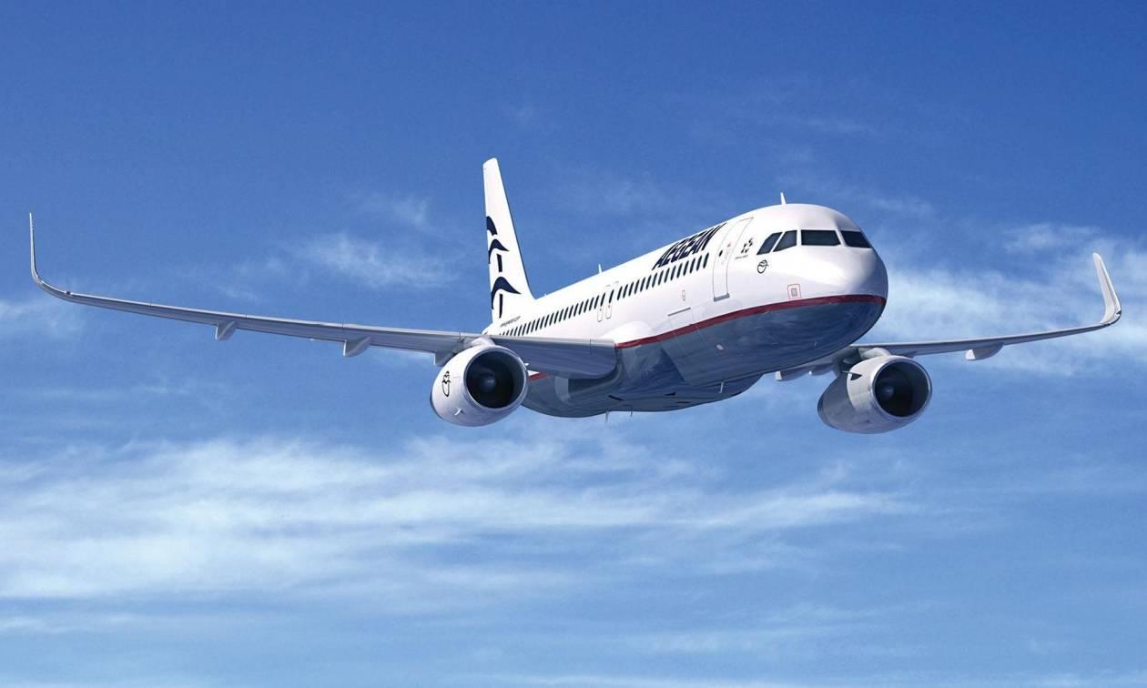 Θρίλερ με αεροπλάνο της Aegean: Εκτελούσε το δρομολόγιο Κωνσταντινούπολη - Αθήνα