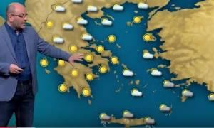 Καιρός: Προσοχή: Η έκτακτη προειδοποίηση του Σάκη Αρναούτογλου (video+photo)
