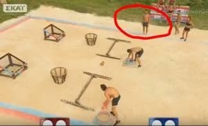 Survivor: Μάγκας ο Αγγελόπουλος - Δείτε τι έκανε χθες στον Μάριο και δεν το παρατήρησε κανείς! (vid)