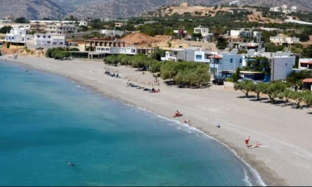 Iεράπετρα: H μαγευτική παραλία του Μακρύ Γιαλού μέσα από τα «μάτια» ενός Drone (video)