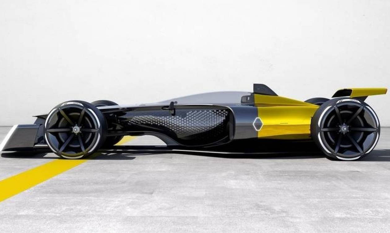 Έτσι φαντάζεται η Renault το μονοθέσιό της για τη Φόρμουλα 1 το 2027