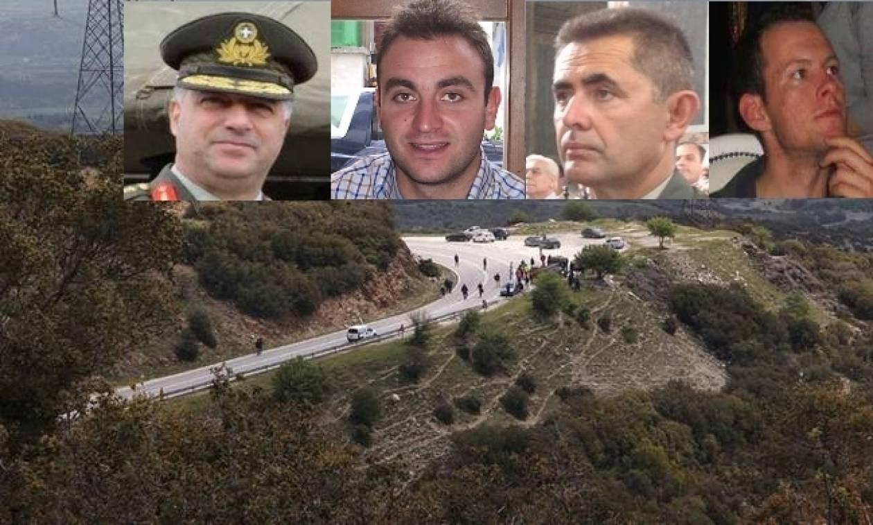 Πτώση ελικοπτέρου: Τι έδειξε η νεκροψία για τους τέσσερις αδικοχαμένους αξιωματικούς