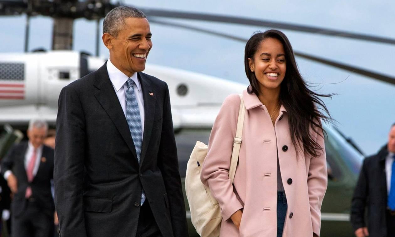 ΗΠΑ: Άνδρας κατηγορείται ότι παρενοχλούσε και πρότεινε γάμο στην κόρη του Μπαράκ Ομπάμα