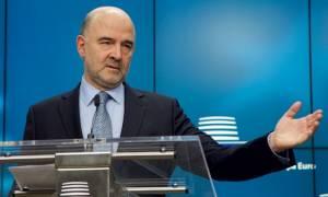 Μικρό… καλάθι κρατάει ο Μοσκοβισί για συμφωνία μέχρι το Eurogroup του Μαΐου