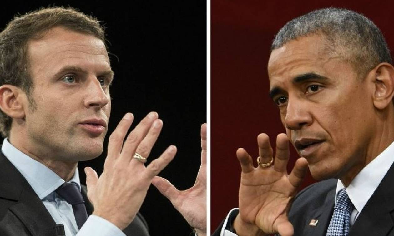 Προεδρικές εκλογές Γαλλία: Τηλεφωνική επικοινωνία Ομπάμα - Μακρόν