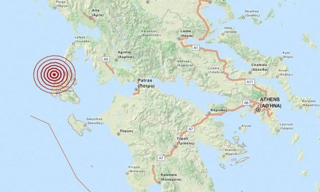 Σεισμός στην Κεφαλονιά (pics)