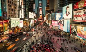 ΗΠΑ: Εγκαινιάστηκε επισήμως η «μεταμορφωμένη» Times Square στη Νέα Υόρκη (pics)