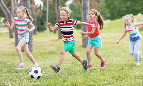 Πώς η άσκηση βοηθάει τη μνήμη των παιδιών