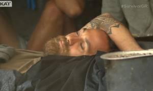 Survivor: Δύσκολες στιγμές για τον Αναγνωστόπουλο – Τι συνέβη;