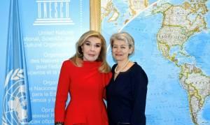 Η Μαριάννα Βαρδινογιάννη στην ετήσια συνάντηση Πρέσβεων Καλής Θελήσεως της UNESCO