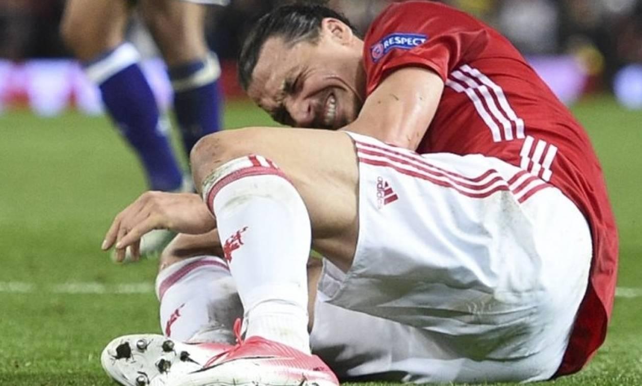 Τραυματισμός ΣΟΚ του Ιμπραΐμοβιτς: Ανησυχία ακόμα για την καριέρα του (video)