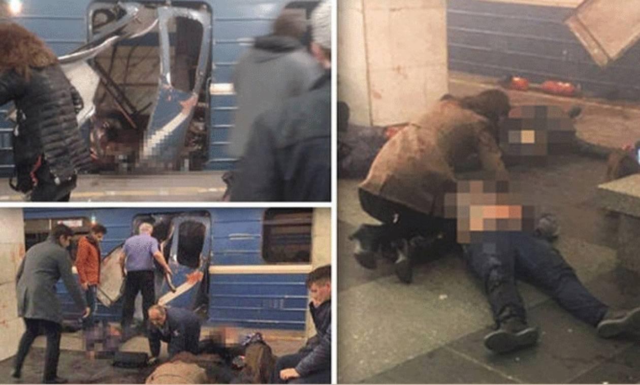 Αγία Πετρούπολη: Στους 15 οι νεκροί από την επίθεση στο μετρό