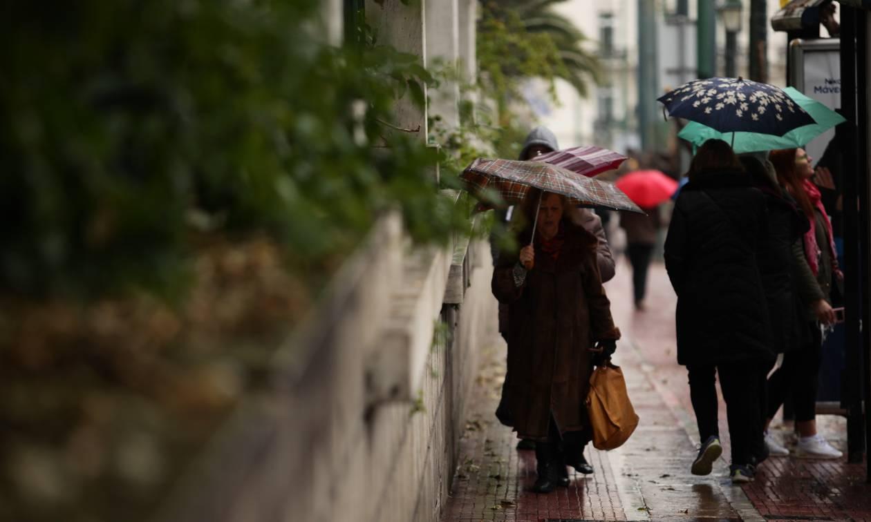 Έκτακτο δελτίο επιδείνωσης καιρού: Βροχές, καταιγίδες και χαλάζι το Σάββατο