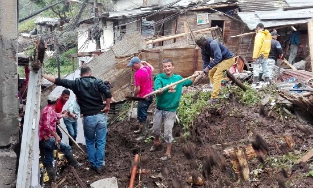 Κολομβία: Στους 19 οι νεκροί από τις πλημμύρες και τις κατολισθήσεις