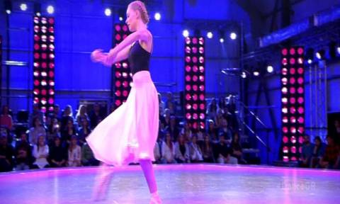 Η σύντροφος του Μπουγιούρη στο So you think you can dance!