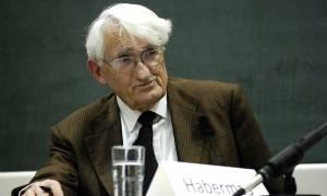 Χάμπερμας: Ένας φιλόσοφος «αδειάζει» το δίδυμο Μέρκελ - Σόιμπλε