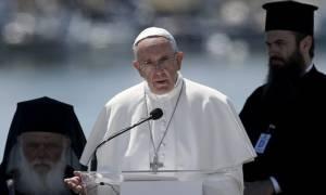Την Ελλάδα επαίνεσαι για τη μεγαλοψυχία της ο Πάπας Φραγκίσκος