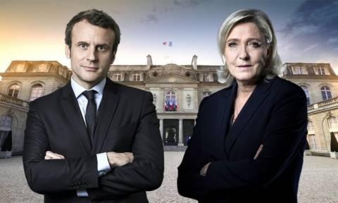 Εκλογές Γαλλία 2017: Μακρόν και Λεπέν θα «κονταροχτυπηθούν» στο δεύτερο γύρο (vid)