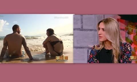 Survivor Πανόραμα: Τα «μαζεύει» η Δάρρα μετά την ατάκα της για φλερτ Κολιδά – Μισθοφόρου