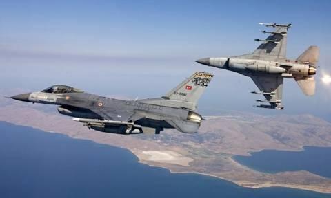 Τουρκικά F-16 στο Αιγαίο – Καταδιώχθηκαν από ελληνικά μαχητικά