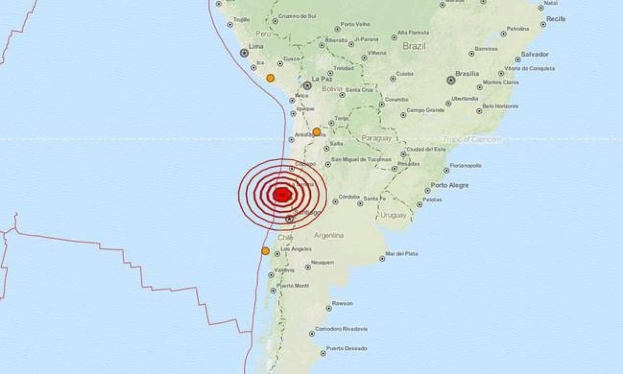 Σεισμός 7,1 Ρίχτερ στη Χιλή