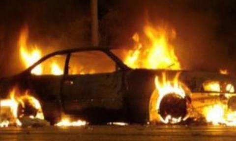 На Кипре в результате пожара сгорело 9 автомобилей