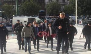 Και πάλι στα δικαστήρια οι Τούρκοι αξιωματικοί