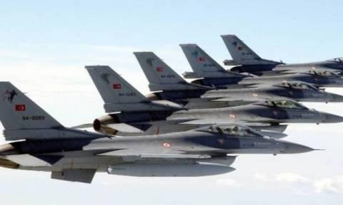 Στο «κόκκινο» η τουρκική προκλητικότητα: Νέο μπαράζ παραβιάσεων και 4 αερομαχίες