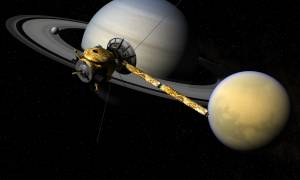 Διαστημόπλοιο Cassini: To doodle της Google για το τελευταίο τμήμα της αποστολής του