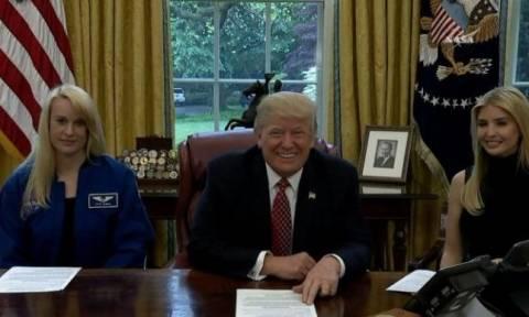ΗΠΑ: Ο Τραμπ θέλει να στείλει ανθρώπους στον Άρη τα επόμενα τρία χρόνια! (vid)
