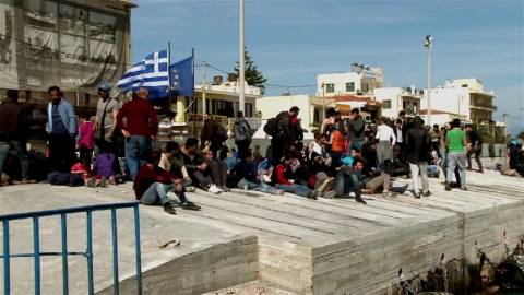 Χίος: «Καμπάνες» σε μέλη ακροδεξιάς οργάνωσης για επίθεση σε πρόσφυγες
