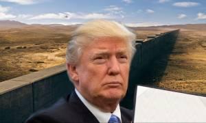 Ο Ντόναλντ Τραμπ εγκαταλείπει το σχέδιο ανέγερσης τείχους στα σύνορα των ΗΠΑ με το Μεξικό